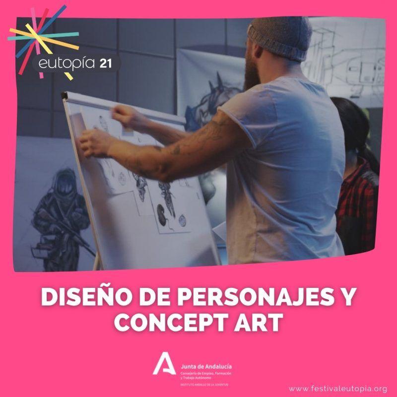_ DISEÑO DE PERSONAJES Y CONCEPT ART _ ARTES PLASTICAS