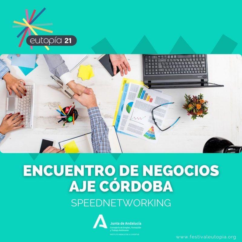 ENCUENTRO DE NEGOCIOS SPEEDNETWORKING AJE CORDOBA _ EMPREDIMIENTO