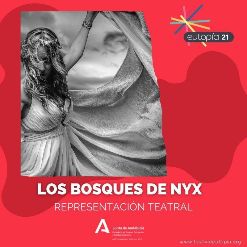 REPRESENTACIÓN DE TRATRO LOS BOSQUES DE NYX_ ARTES ESCENICAS