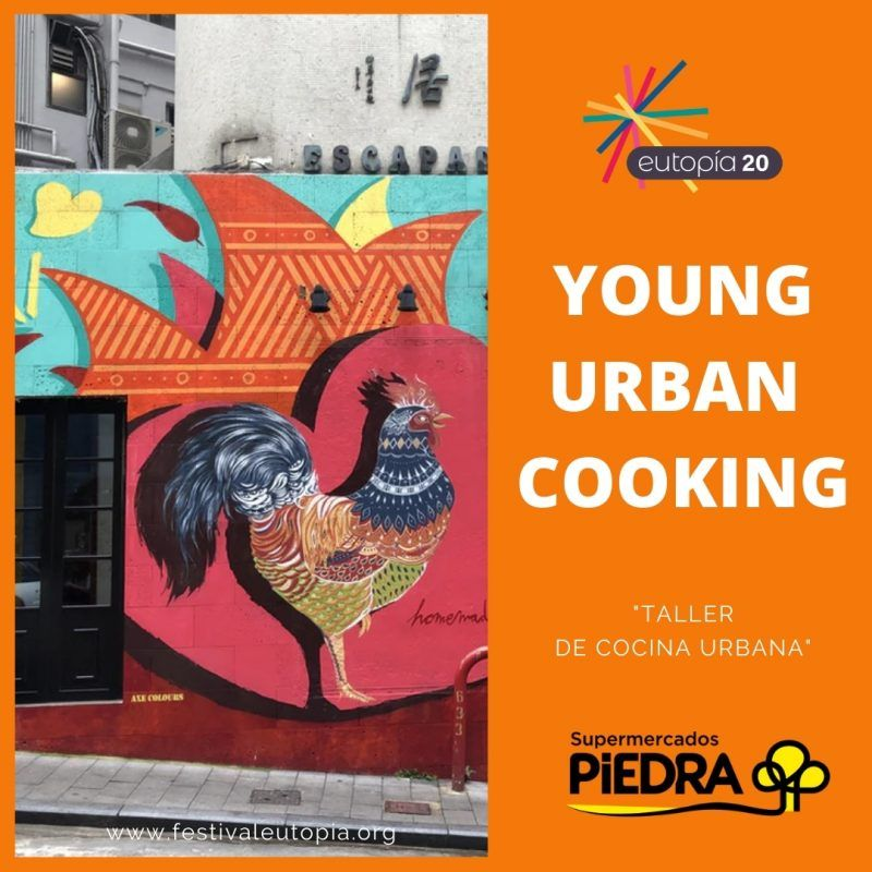 young urban cooking
